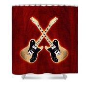 Fender Telecaster Custom Shower Curtain