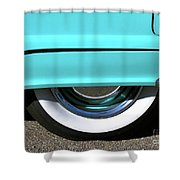 Fender What - 1955 Ford Shower Curtain
