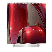 Fenders With Flare Shower Curtain