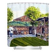 Fenestra Winery Shower Curtain