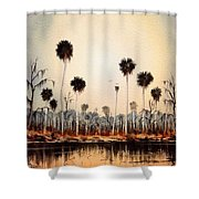 Fenholloway River Florida Shower Curtain