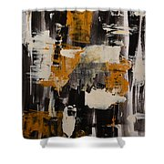 Fenix Shower Curtain by Andrea Anderegg