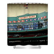 Fenway Memories - 2 Shower Curtain