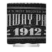 Fenway Park Boston Ma 1912 Sign Shower Curtain