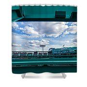 Fenway Park From The Green Monster Shower Curtain