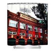 Fenway Park In October 2013 Shower Curtain