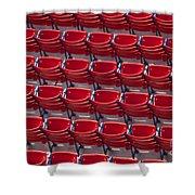 Fenway Seats Shower Curtain