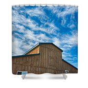 Fenwick Barn  7p01967 Shower Curtain