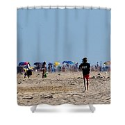 Beach Scene - Fenwick Island Delaware Shower Curtain
