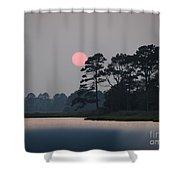 Fenwick Island Delaware Sunset Shower Curtain