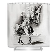 Feria II Shower Curtain