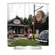 Ferland's_1137 Shower Curtain