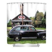 Ferland's_1138 Shower Curtain
