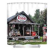 Ferland's_1141 Shower Curtain