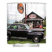 Ferland's_1142 Shower Curtain