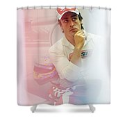 Fernando Alonso 3 Shower Curtain