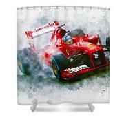 Fernando Alonso Of Spain Shower Curtain