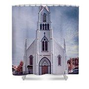 Ferndale Church Shower Curtain
