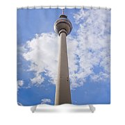 Fernsehturm Berlin Shower Curtain