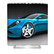 Ferrari 16 Shower Curtain