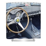 Ferrari 250 Gt Scaglietti Swb California Spyder 1961 Shower Curtain