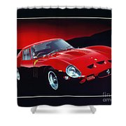 Ferrari 250 Gto Shower Curtain