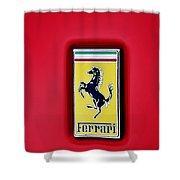 Ferrari Badge Shower Curtain