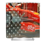 Ferrari Formula One Shower Curtain