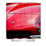 Ferrari Hood Emblem -0390c Shower Curtain