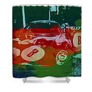 Ferrari Laguna Seca Racing Shower Curtain