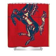 Ferrari Stallion In Hope Shower Curtain