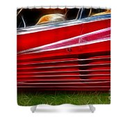 Ferrari Testarossa Red Shower Curtain