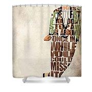 Ferris Bueller's Day Off Shower Curtain by Ayse Deniz