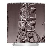 Ferris Wheel 1 Shower Curtain