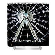 Ferris Wheel 10 Shower Curtain