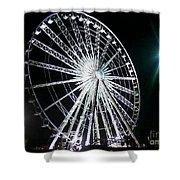Ferris Wheel 11 Shower Curtain