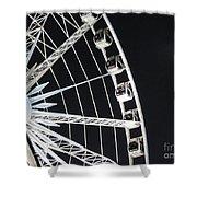 Ferris Wheel 15 Shower Curtain
