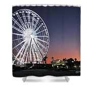 Ferris Wheel 16 Shower Curtain