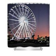Ferris Wheel 19 Shower Curtain