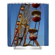 Ferris Wheel 2 Shower Curtain