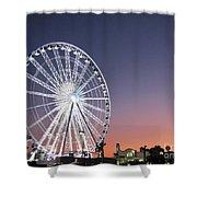 Ferris Wheel 21 Shower Curtain