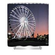 Ferris Wheel 22 Shower Curtain