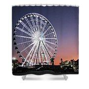 Ferris Wheel 23 Shower Curtain