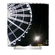 Ferris Wheel 5 Shower Curtain