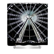 Ferris Wheel 7 Shower Curtain