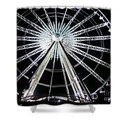 Ferris Wheel 8 Shower Curtain