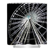 Ferris Wheel 9 Shower Curtain