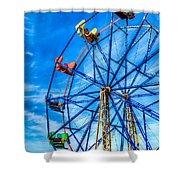 Ferris Wheel - Balboa Fun Zone Shower Curtain