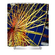 Ferris Wheel Shower Curtain