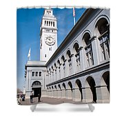 Ferry Building Shower Curtain